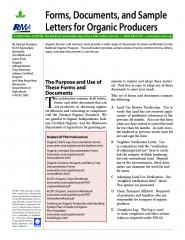 Forms, Documents, and Sample Letters for Organic Producers.jpg